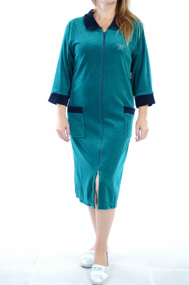 Махровые и велюровые халаты: отличия и преимущества изделий